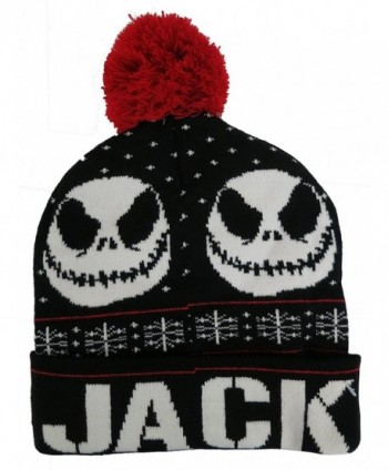 Nightmare Before Christmas Skellington Beanie