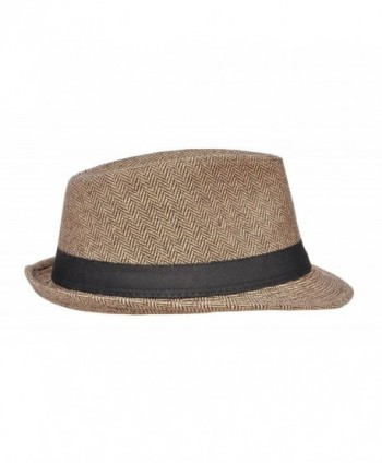 Harcadian Trillby Hat Men Fedora