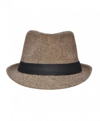 Harcadian Trillby Hat Men Fedora in Men's Fedoras