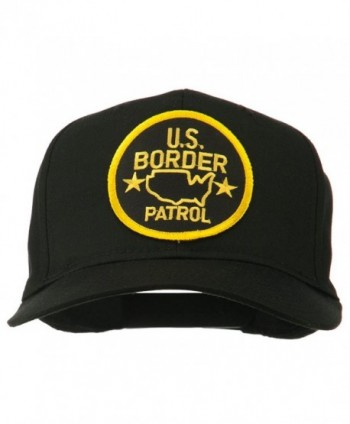 Border Patrol Embroidered Patch Cap