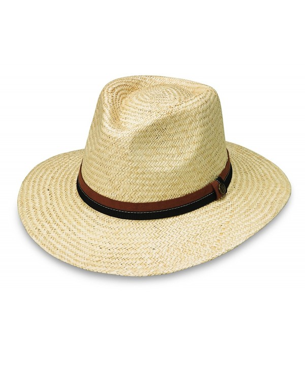 wallaroo Men's Byron Sun Hat - UPF 50+ - Sophisticated Style - Natural - CF129JXBOV9