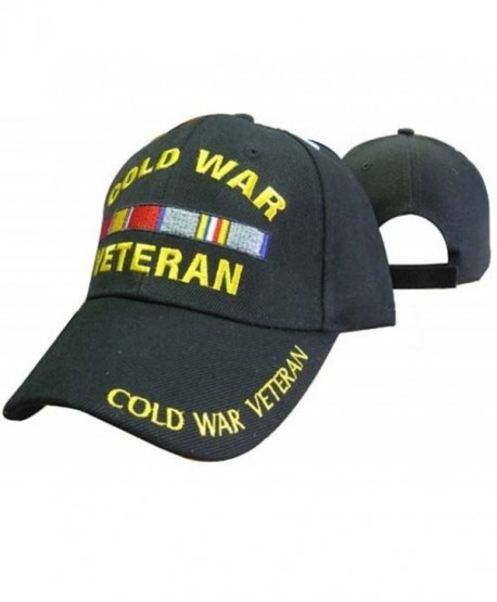 Cold War Veteran Vetrans Ribbon 3d Embroidered Baseball Cap Hat (Licensed) - CN187EEO5Q6