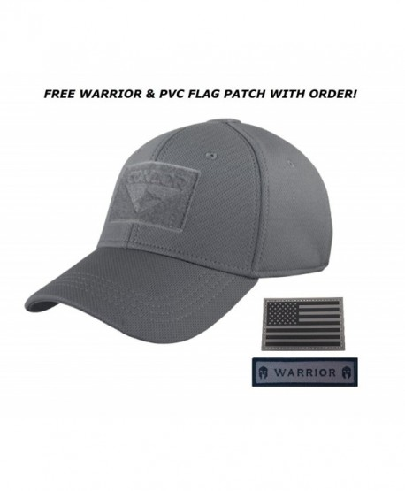 Condor Flex Tactical Cap (Graphite) + FREE Warior & PVC Flag Patch - CX12MSH7HD7