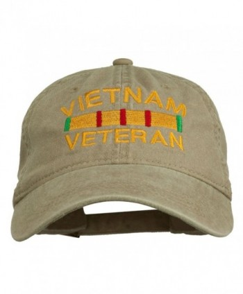 Vietnam Veteran Embroidered Pigment Buckle