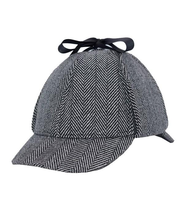 Sherlock England Detective Deerstalker Children L - Grey - CN189YGDTM3