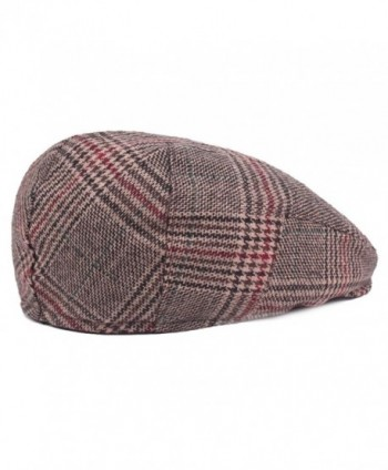 ZLSLZ Woolen newsboy Cabbie Paperboy in Men's Newsboy Caps