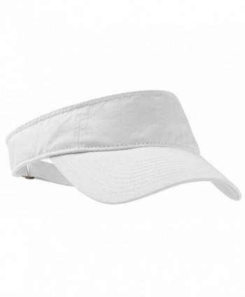 Port Authority Men's Fashion Visor - White - CA11NGRI9JZ