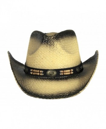 Classic Outback Stained Cowboy Beaded