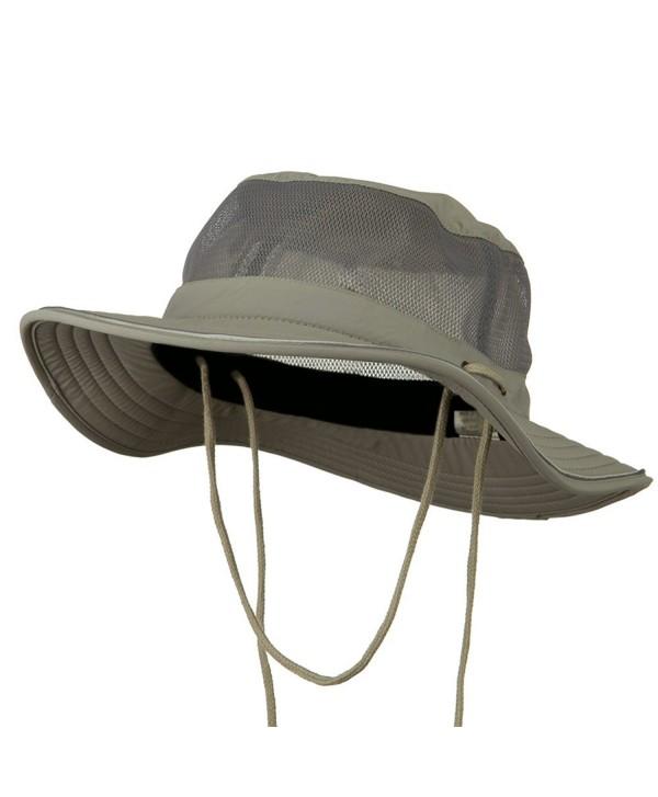 Big Size Talson UV Mesh Bucket Hat - Grey (For Big Head) - CL11H0H6KA1