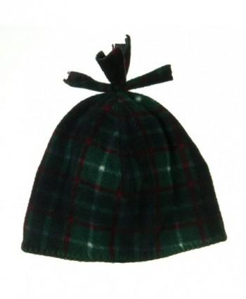 Plaid Design Winter Fleece Hat in Men's Skullies & Beanies