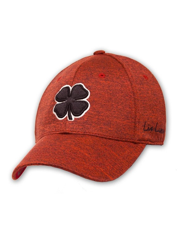 Black Clover Mens Rope Lucky Heather Red Luck Cap - Red - C612NBVIZ1I
