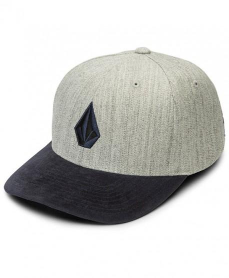 Volcom Men's Full Stone Flexfit Hat - Indigo - CW183GQXE4U