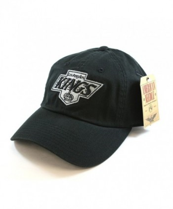 NHL Los Angeles Kings Unstructured Twill Blue Line Cap by American Needle - C911HB0EGDV