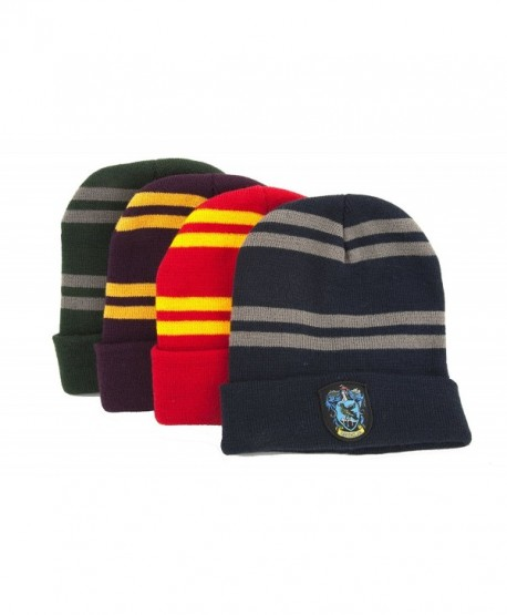 Harry Potter Beanie Hat Knit Cap - Official - By Cinereplicas - Classic Red Gryffindor (Adult) - CK11LS6OBTN