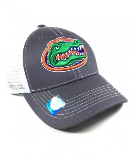 Grey Ghost Florida Gators Mesh Trucker Snapback - CN125OEGILN