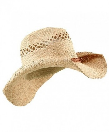 Raffia Hat Band Light Brown Band