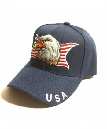 Patriotic American Eagle Flag Baseball in Men's Baseball Caps