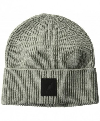 Kangol Men's Patch Beanie - Light Flannel - CL184TM3E9A