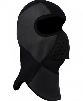 FXR-Snow Black-Out Adult With Neoprene Nosepiece Balaclava- Black- Large/LG - CB11PKCGWLV