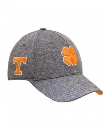 Black Clover Heather Orange/White/Heather Tennessee Premium Fitted Hat - C1182GHT6TW