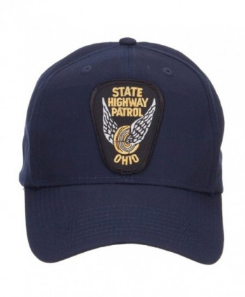 Ohio State Highway Patrol Patch Cap - Navy - CC126E5SJ9P