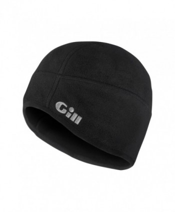 Gill Men's Windproof Fleece Hat - Black - C0118VRYQ6Z