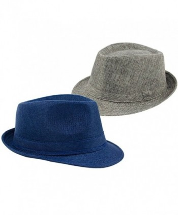 Jytrading Fedora Summer Protection Hat Navy