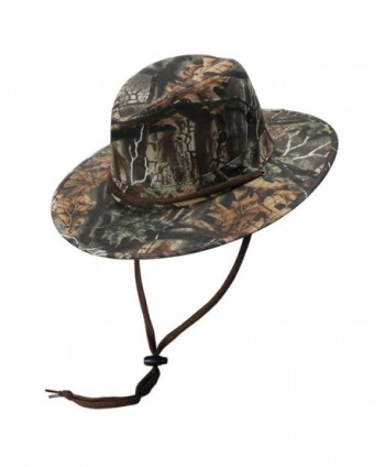 Solid Crown Camo Australian Hat by Turner Hat - Multicolored - CB11PB4IUQ3