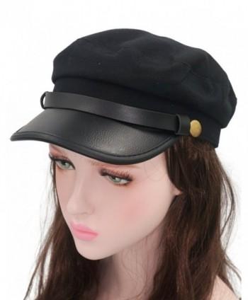 Roffatide Chauffeur Costume Cosplay Officer in Men's Newsboy Caps