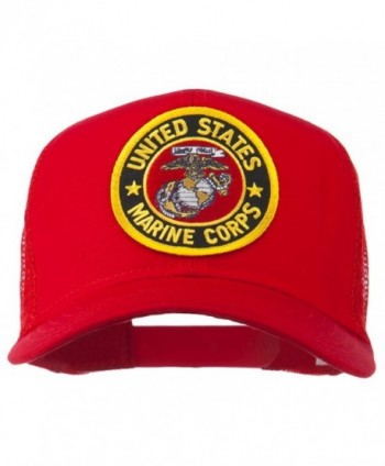 Round Marine Corps Patched Mesh