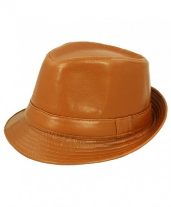Faddism Fashion Fedora Leather Design