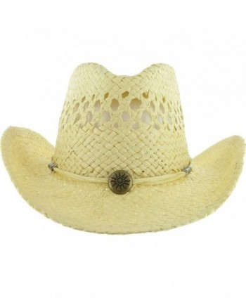 DealStock COWBOY Shapeable Western Womens in Men's Sun Hats