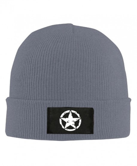 FS&DM Cap Oscar Mike Jeep Military Star Unisex Skull Cap toboggan Knit Hat Warm Hat. - Asphalt - CD188A08G9N
