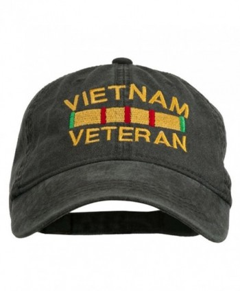 Vietnam Veteran Embroidered Pigment Buckle