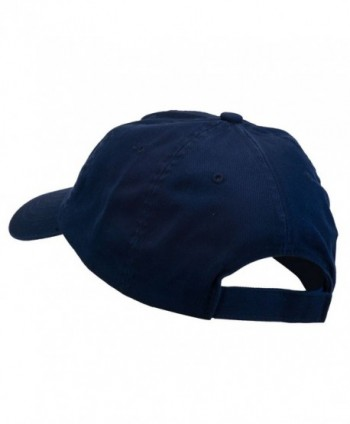 E4hats Navy Retired Embroidered Spun in Men's Baseball Caps