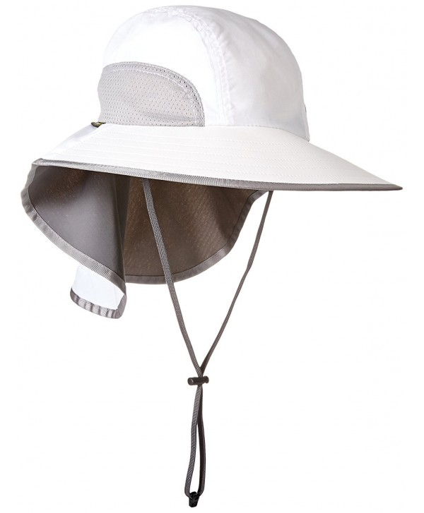 Sunday Afternoons Mens Adventure Sun Hat - White - CC11JUVBMP9