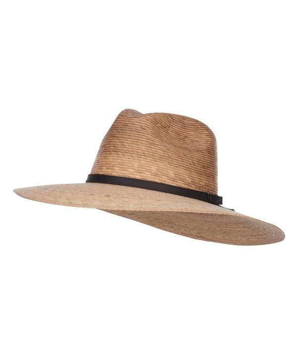 Men's Palm Braid Safari Hat - Dk Palm - CI12ENSD26P