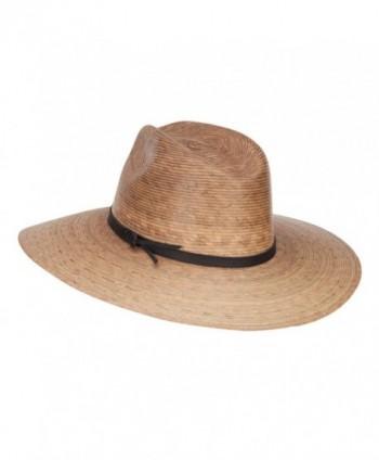 Mens Palm Braid Safari Hat
