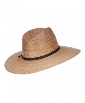 Mens Palm Braid Safari Hat in Men's Sun Hats