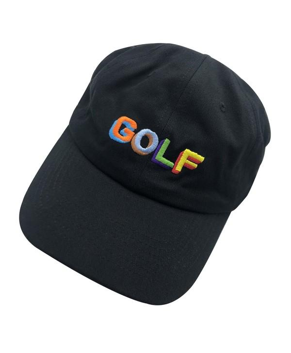 Golf Dad Hat Baseball Cap 3D Embroidered Adjustable Snapback Unisex - Multicoloured - CO185ED50AE