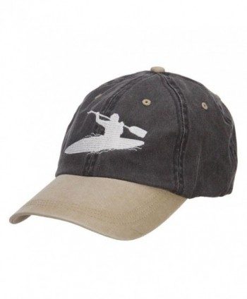 Kayak Embroidered Washed Two Tone
