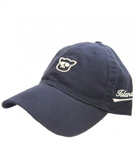 Islanders Pig Face Twill Dad Hat Navy - Navy - CJ17Y0L55O8