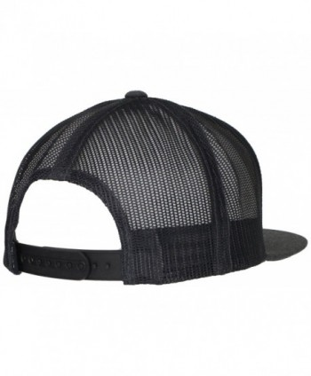 RVCA Mens Truck Charcoal Sizether in Men's Baseball Caps