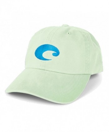 Costa Del Mar Cotton Twill Hat - Juniper - CP11IA73OQX