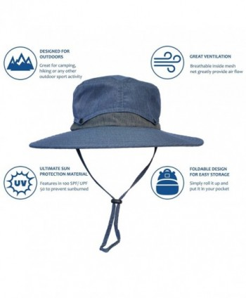 Outdoor Protection Fishing Safari Collapsible in Men's Sun Hats
