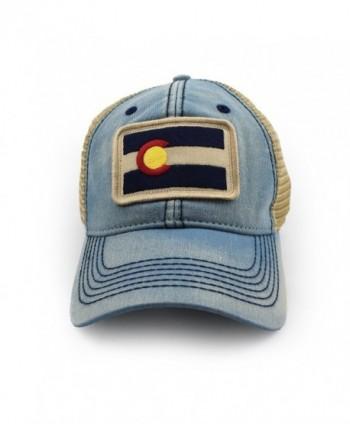 Colorado Flag Patch Trucker Americana