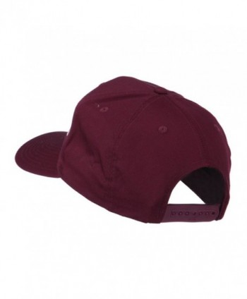 Playboy Embroidered Cap Maroon OSFM in Men's Baseball Caps