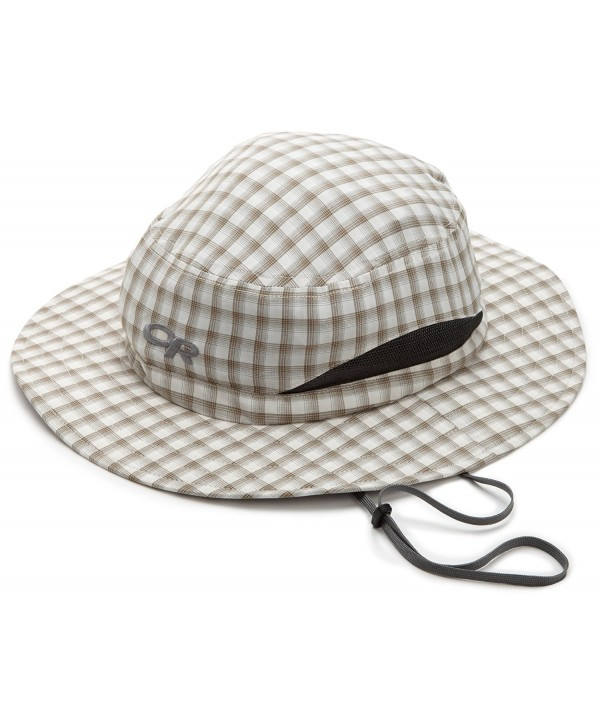 Outdoor Research Men's Sol Hat - Walnut Plaid - CL116CWZ5GL