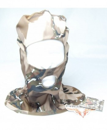 Stretch-Fit Camouflaged Full Hood Facemask - CV115VJ6O3J