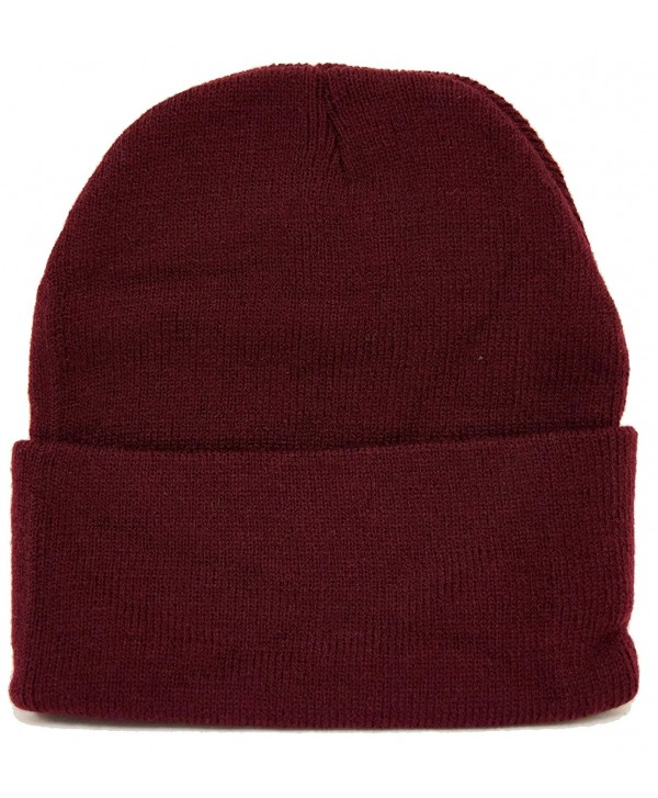 Long Beanie / Maroon / Warm For Winter - C7110ZAOZ6B